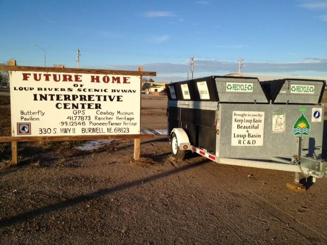 LBRC&D KLBB Recycling Trailer at 330 HWY 11